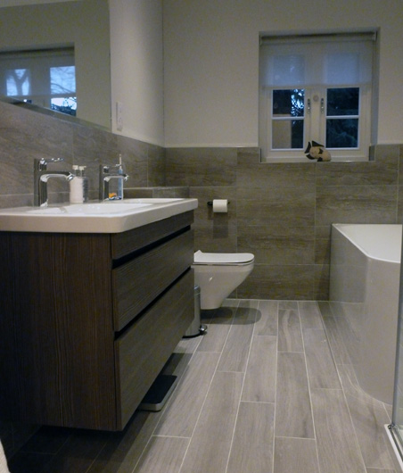 Bathroom Design from floor plan to all finishes