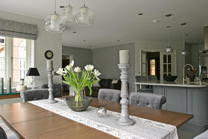 Open Plan dining area design Hertfordshire