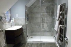 Bespoke shower and indulgent tiles